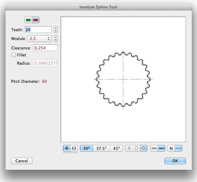 Pictures Of Nuts And Bolts >> Involute Spline Tool